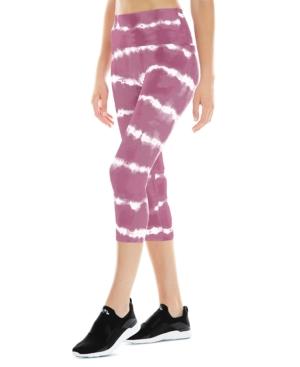 Women's Tie-Dyed Capri Pants