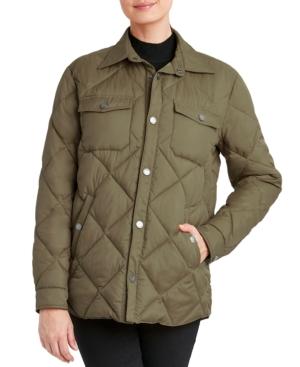 Shirt Jacket Packable Puffer Coat