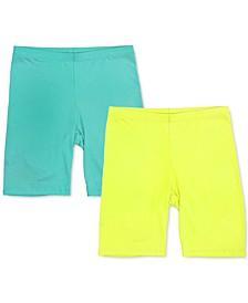2-Pk. Bike Shorts, Created for Macy's