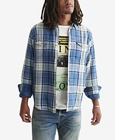 Men's Long Sleeve Monroe Button Down Shirt