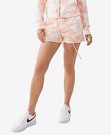 Women's Knit Pull On Lounge Shorts