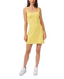 Women's Ruffle Strap Cami Dress