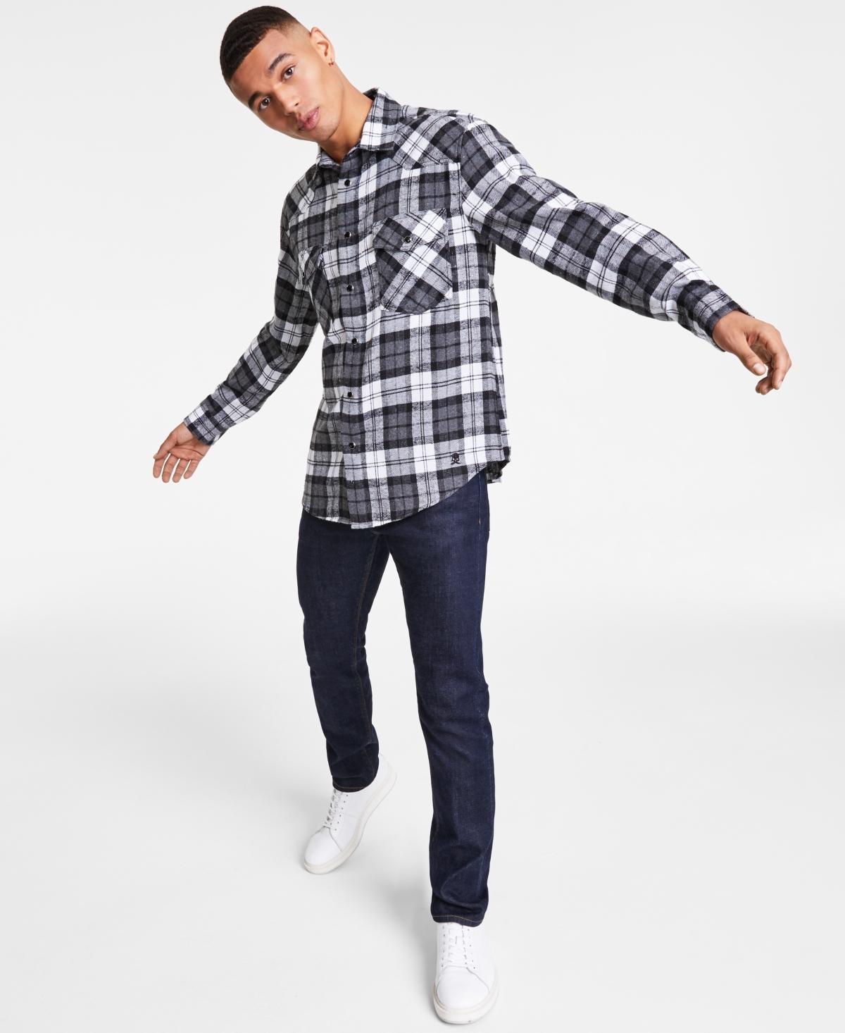 Men's Route 66 Flannel Shirt