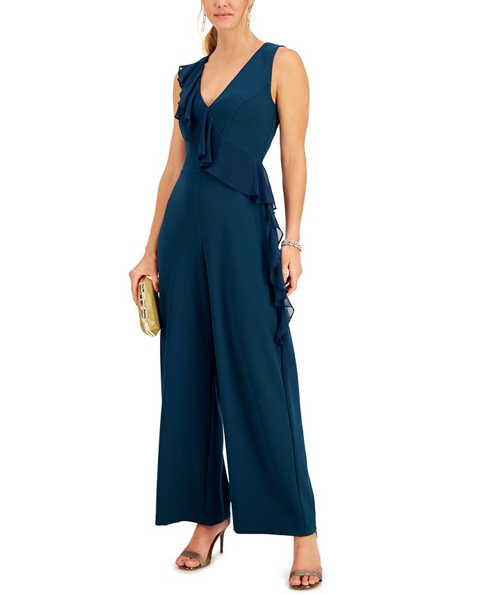 Connected - Ruffled Jumpsuit