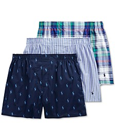 Woven Boxers - 3-Pack