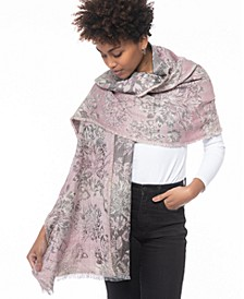 Floral Jacquard Wrap, Created for Macy's