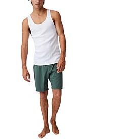 Men's Organic Jersey Sleep Shorts
