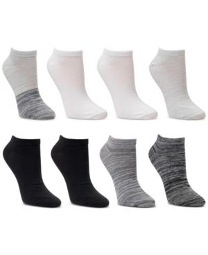 8-Pk. Low-Cut Ombre Spacedye Socks