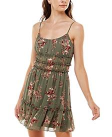Juniors' Emma Ruffled Dress