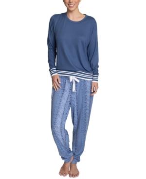 Butter-Knit Jogger Pants Pajama Set