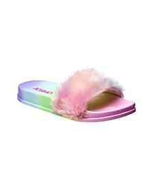 Little Girls Rainbow Slides