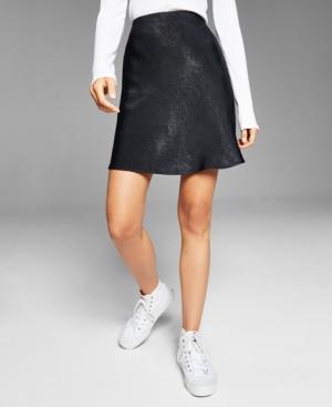 Women's Mini Slip Skirt