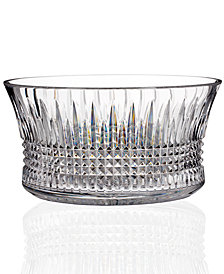 """House of Waterford Lismore 12"""" Diamond Centerpiece"""