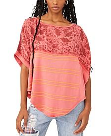 Right Back Cotton Asymmetrical Top