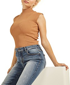 Lily Ribbed Sleeveless Sweater