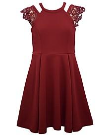 Big Girls Sleeveless Knit Skater Dress