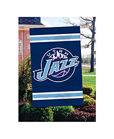 Party Animal Utah Jazz Applique House Flag