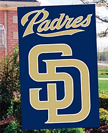 Party Animal San Diego Padres Applique House Flag