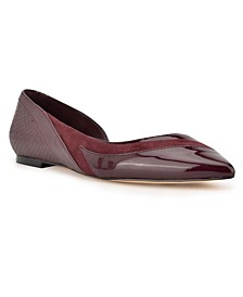 Women's Byebye D'Orsay Pointed Toe Flats