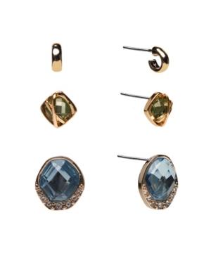 Trio Stud Earrings Set