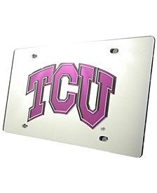 Stockdale Texas Christian Horned Frogs License Plate