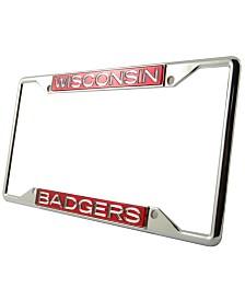 Stockdale Wisconsin Badgers Laser License Plate Frame