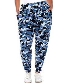 Plus Size Camo Harem Pants