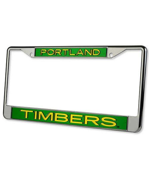 Stockdale Portland Timbers Laser License Plate Frame - Sports Fan ...