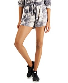 Juniors' Tie-Dyed Shorts