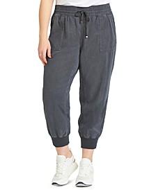 Trendy Plus Size Jogger Pants