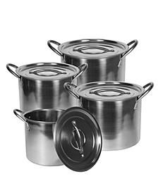 Stock Pot Cook Set, 8 Pieces