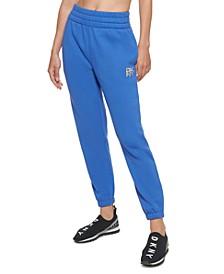 Sport Women's Tiger-Print Logo Jogger Pants