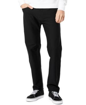Men's Straight-Fit Comfort Knit Jean-Cut Pants