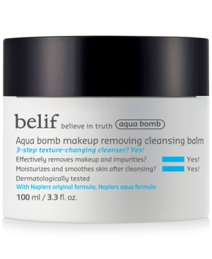 Aqua Bomb Makeup Removing Cleansing Balm