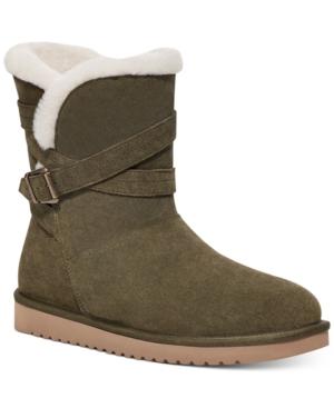 Delene Buckled Booties Women's Shoes