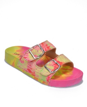 Women's Jeweled Double Band Flat Sandals Women's Shoes