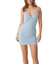 Women's Darla Lace Cross Front Mini Dress