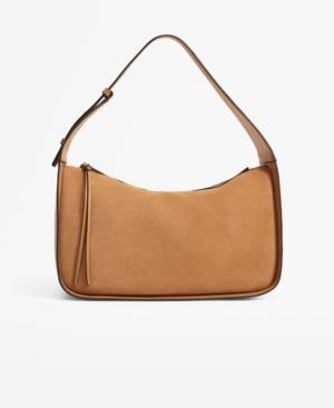 Women's Leather Baguette Bag