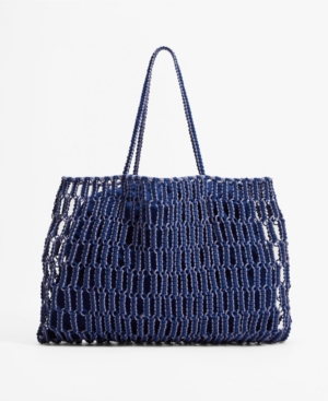 Women's Braided Shopper Bag