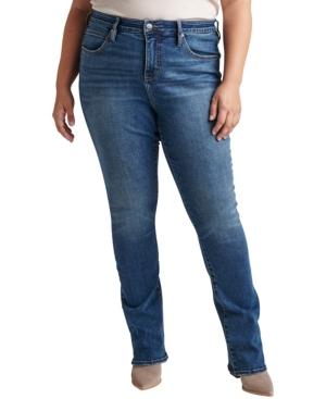 Plus Size Eloise Mid Rise Bootcut Jeans