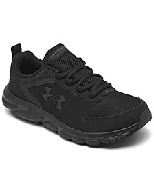 Women's Charged Assert 9 Wide Width Running Sneakers from Finish Line