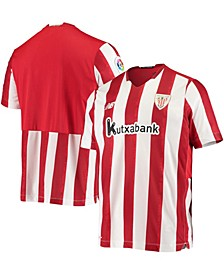 Men's White Athletic Club Bilbao 2020/21 Home Replica Jersey