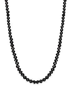 Black Diamond Necklace in 14k White Gold (25 ct. t.w.)