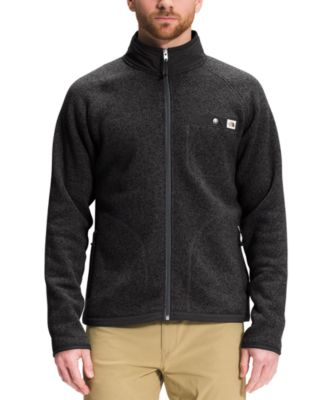 노스페이스 맨 플리스 스웨터 The North Face Mens Gordon Lyons Standard-Fit Full-Zip Fleece Sweater,Tnf Black Heather
