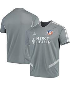 Men's Gray FC Cincinnati 2019 Team Training Jersey