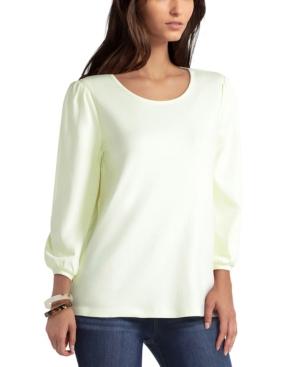 Women's 3/4 Puff Sleeve Top