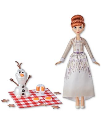 Frozen 2 Anna and Olaf's Autumn Picnic Set, 9 Pieces