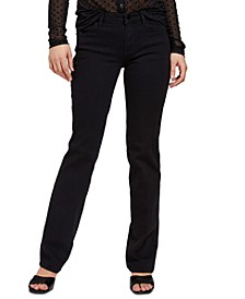 Smart Collection Sexy Straight-Leg Jeans