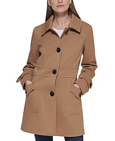 Single-Breasted Peacoat, Created for Macy's