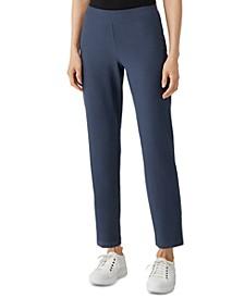 Slim-Fit Ankle Pants